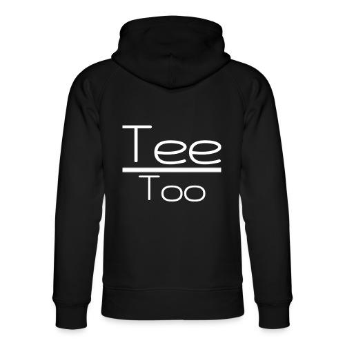 TeeToo text logga vit - Ekologisk luvtröja unisex från Stanley & Stella