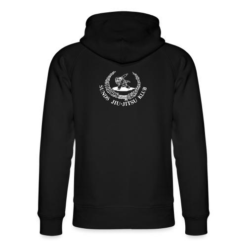 hvid logo på brystet eller ryggen - Stanley & Stella unisex hoodie af økologisk bomuld