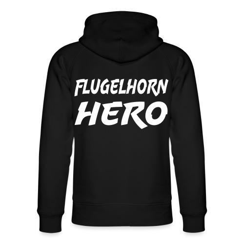 Flugelhorn Hero - Unisex Organic Hoodie by Stanley & Stella