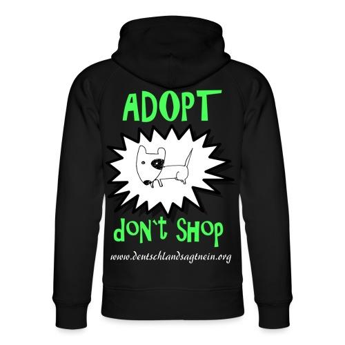 Adopt don`t shop - Unisex Bio-Hoodie von Stanley & Stella