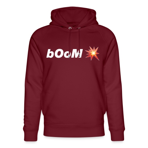 bOoM - Unisex Organic Hoodie by Stanley & Stella