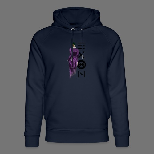 Emotionless Passion Exon - Unisex Organic Hoodie by Stanley & Stella
