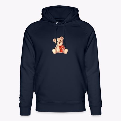 Teddy Bear - Unisex Organic Hoodie by Stanley & Stella