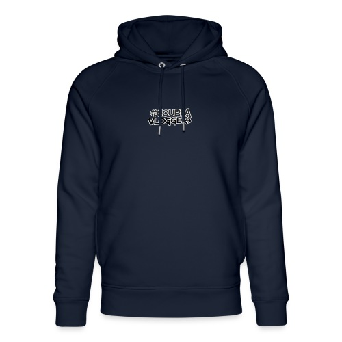 #CouplaVloggers - Unisex Organic Hoodie by Stanley & Stella