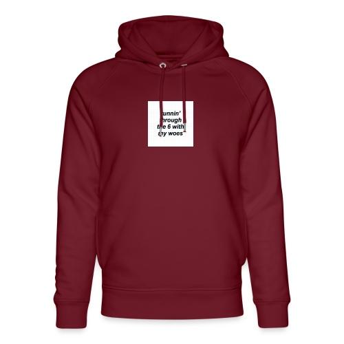 cap woes - Uniseks bio-hoodie van Stanley & Stella