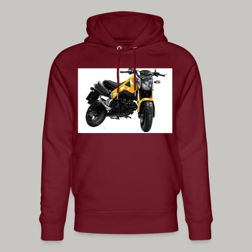 Grom Motorcycle (Monkey Bike) - Unisex Organic Hoodie by Stanley & Stella