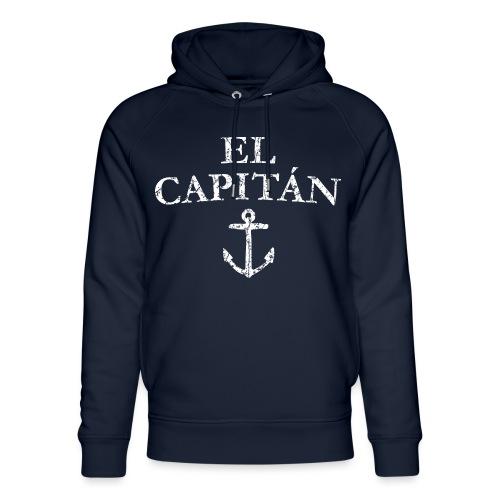El Capitan Anker (Vintage Weiß) Kapitän Käpt'n - Unisex Bio-Hoodie von Stanley & Stella