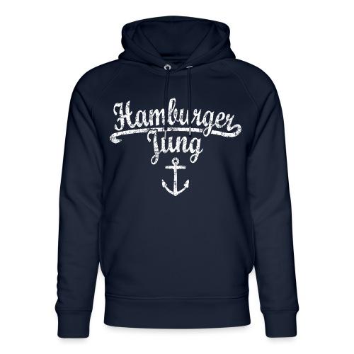 Hamburger Jung Klassik (Vintage Weiss) Hamburg - Unisex Bio-Hoodie von Stanley & Stella