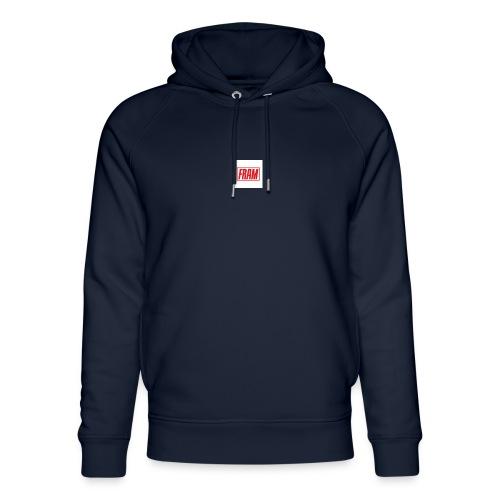 LogoSample ByTailorBrands - Uniseks bio-hoodie van Stanley & Stella