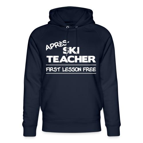 Apres ski teacher - Unisex Bio-Hoodie von Stanley & Stella