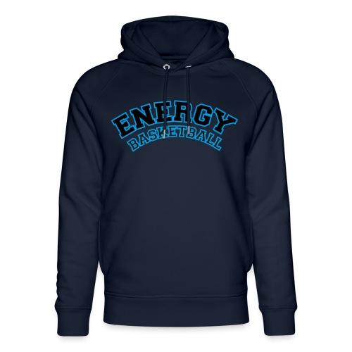 street wear logo nero energy basketball - Felpa con cappuccio ecologica unisex di Stanley & Stella