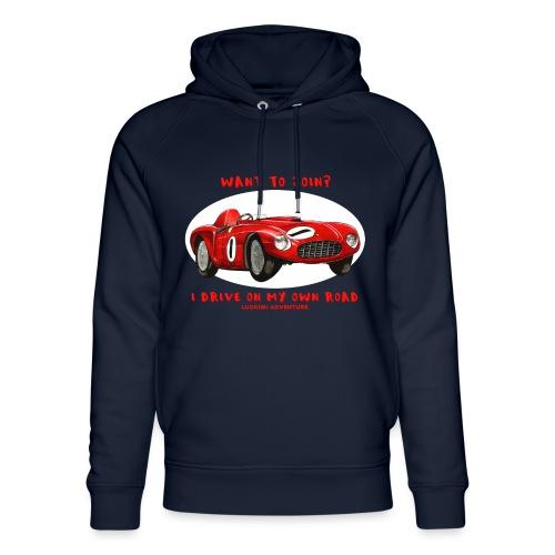 Happy Car Red - Unisex Organic Hoodie by Stanley & Stella