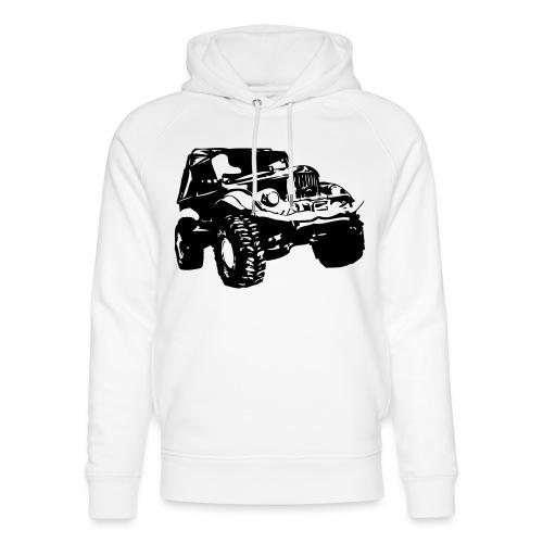 Russischer Geländewagen GAZ 69 - Unisex Bio-Hoodie von Stanley & Stella