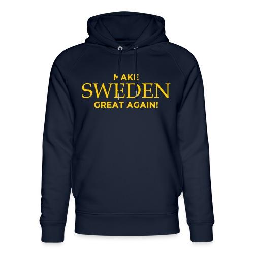 Make Sweden Great Again! - Ekologisk luvtröja unisex från Stanley & Stella