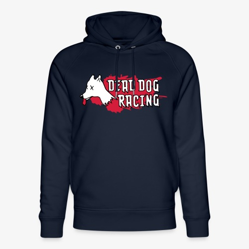 Dead dog racing logo - Unisex Organic Hoodie by Stanley & Stella