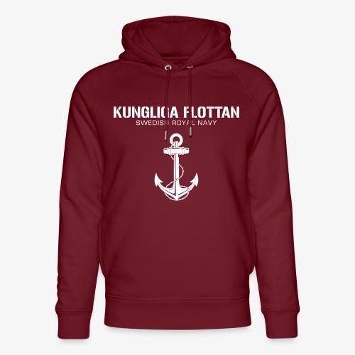Kungliga Flottan - Swedish Royal Navy - ankare - Ekologisk luvtröja unisex från Stanley & Stella