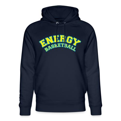 street wear logo giallo energy basketball - Felpa con cappuccio ecologica unisex di Stanley & Stella