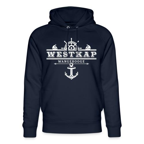 Westkap Wangerooge Logo - Unisex Bio-Hoodie von Stanley & Stella