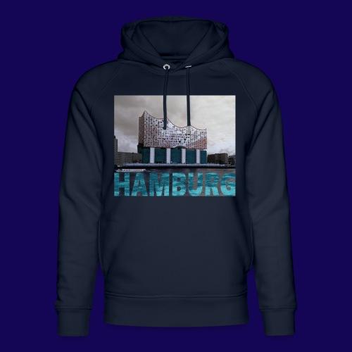 Elbphilharmonie | HAMBURG-Typo| Künstlermotiv - Unisex Bio-Hoodie von Stanley & Stella