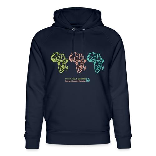 Ramer-Douglas-Peucker Algorithm -Africa - Unisex Organic Hoodie by Stanley & Stella