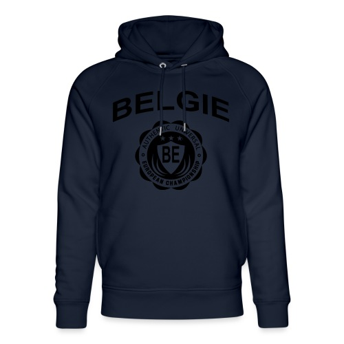 België - Uniseks bio-hoodie van Stanley & Stella