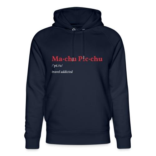 Machu Picchu - Unisex Bio-Hoodie von Stanley & Stella