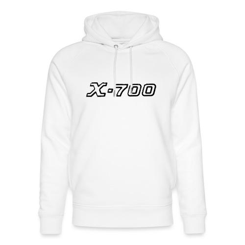 Minolta X-700 White - Felpa con cappuccio ecologica unisex di Stanley & Stella