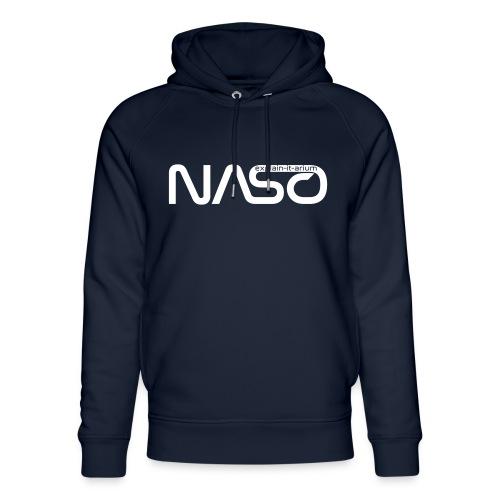 Naso-NASA1 - weiß - Unisex Bio-Hoodie von Stanley & Stella
