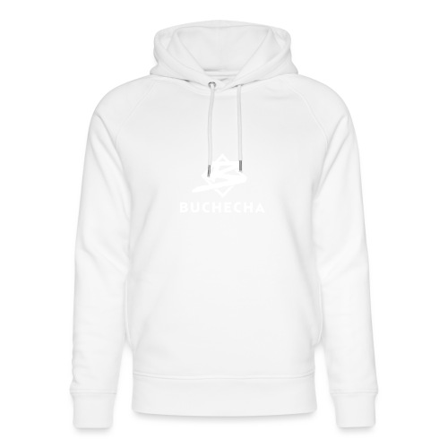 Logo White Basic - Sudadera con capucha ecológica unisex de Stanley & Stella