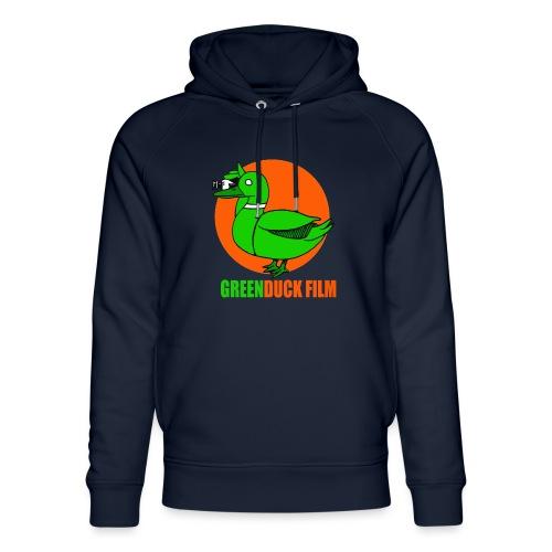 Greenduck Film Orange Sun Logo - Stanley & Stella unisex hoodie af økologisk bomuld