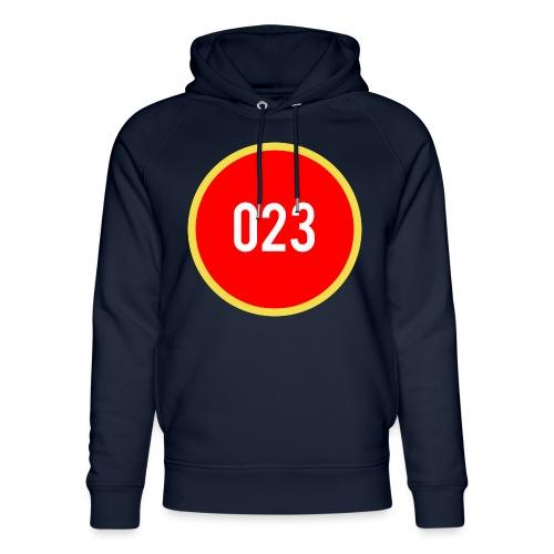 023 logo 2 - Uniseks bio-hoodie van Stanley & Stella