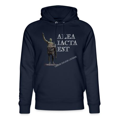 Cesare alea iacta est - Felpa con cappuccio ecologica unisex di Stanley & Stella