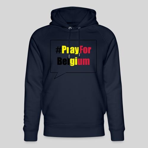 #PrayForBelgium - Sweat à capuche bio Stanley & Stella unisexe