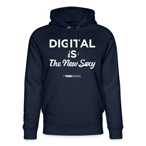 Digital is the New Sexy - Felpa con cappuccio ecologica unisex di Stanley & Stella