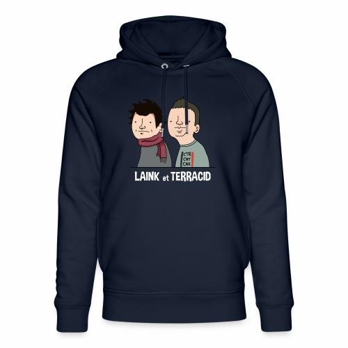 Laink et Terracid - Sweat à capuche bio Stanley & Stella unisexe