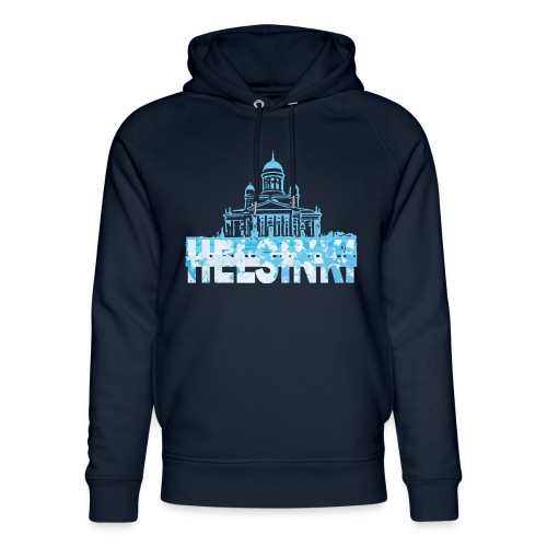 Helsinki Cathedral - Unisex Organic Hoodie by Stanley & Stella