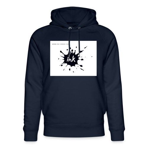 Ink Logo and website - Unisex Organic Hoodie by Stanley & Stella