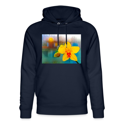 The orchid in the window - Stanley & Stella unisex hoodie af økologisk bomuld