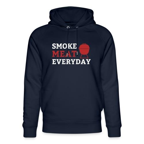 smoke meat everyday shirt - Unisex Bio-Hoodie von Stanley & Stella