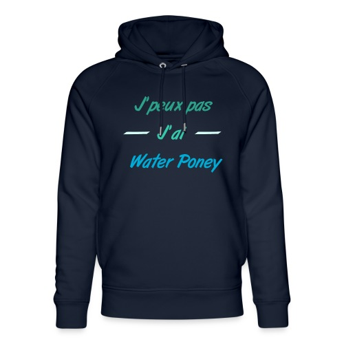Water Poney - Sweat à capuche bio Stanley & Stella unisexe