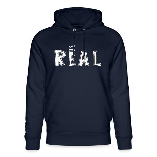 REAL (White) - Uniseks bio-hoodie van Stanley & Stella