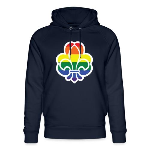 Regnbuespejder jakker og t-shirts mv - Stanley & Stella unisex hoodie af økologisk bomuld