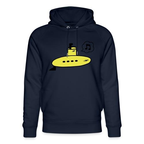 Singing Yellow Submarine - Unisex Organic Hoodie by Stanley & Stella