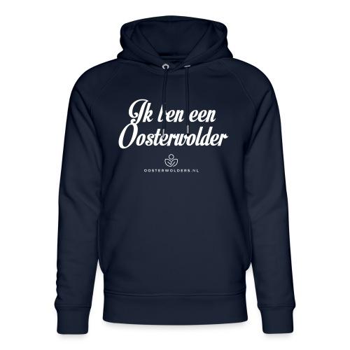 Ik ben een Oosterwolder - Uniseks bio-hoodie van Stanley & Stella