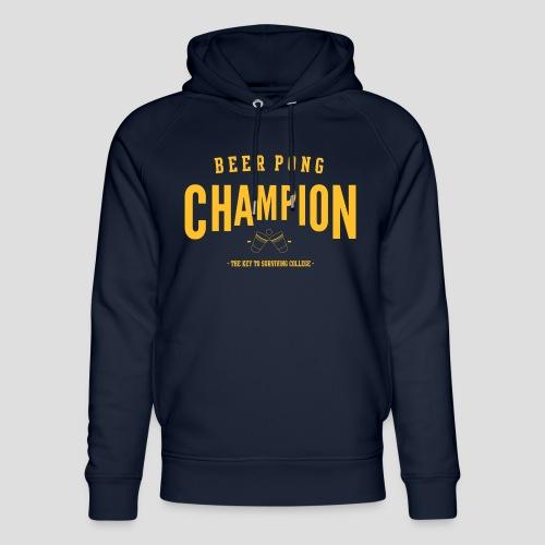 Beerpong Champion T-Shirt - Unisex Bio-Hoodie von Stanley & Stella