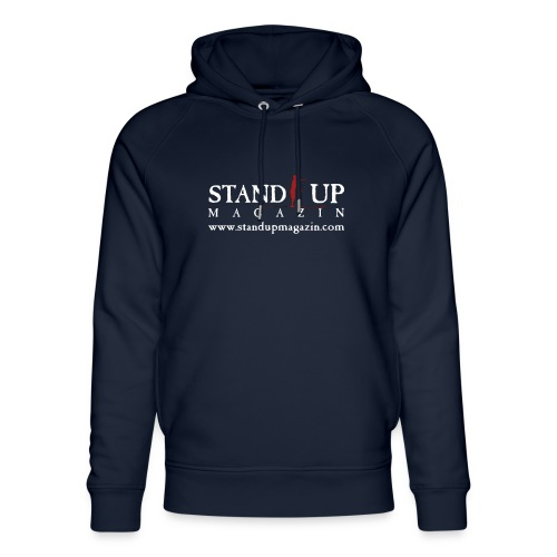 sup mag shirt front weiss - Unisex Bio-Hoodie von Stanley & Stella