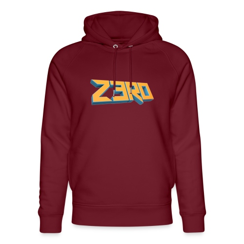 The Z3R0 Shirt - Unisex Organic Hoodie by Stanley & Stella