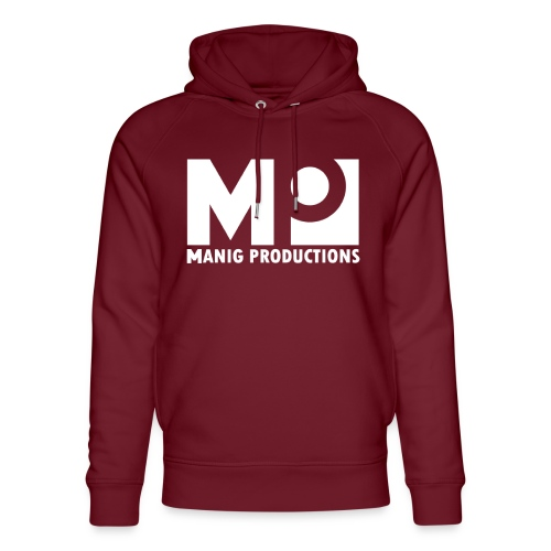 ManigProductions White Transparent png - Unisex Organic Hoodie by Stanley & Stella