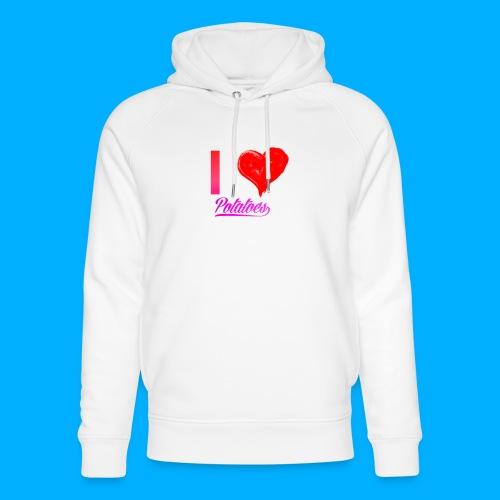 I Heart Potato T-Shirts - Unisex Organic Hoodie by Stanley & Stella
