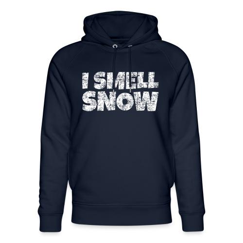 I Smell Snow Schnee, Weihnachten & Wintersport - Unisex Bio-Hoodie von Stanley & Stella